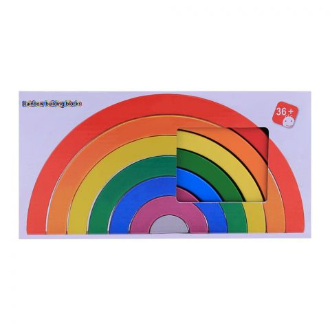 Live Long Wooden Rainbow Puzzle, 2305-22