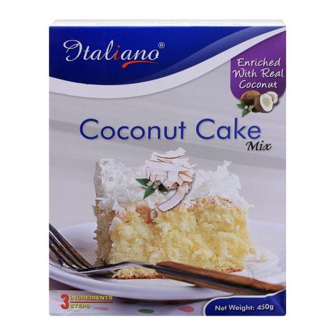 Italiano Coconut Cake Mix, 450g