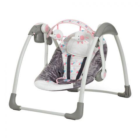 Mastela Deluxe Portable Baby Auto Swing, Bird, 3-11 KG, 6504