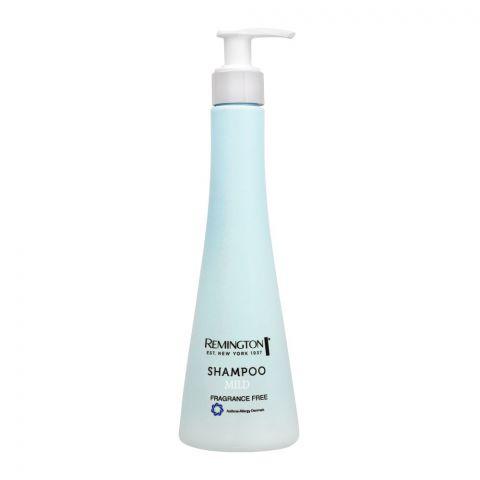 Remington Mild Shampoo, Fragrance Free, 250ml