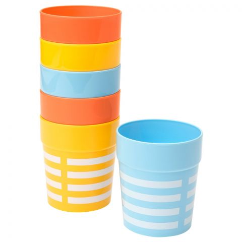 IKEA Sommar 2019 Mug 6 Piece Set, Mixed Colors, 20419252