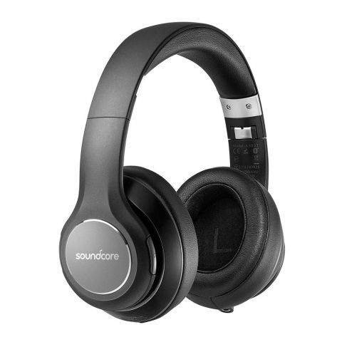 Anker SoundCore Vortex Wireless Over-Ear  Headphones, Black, A3031011