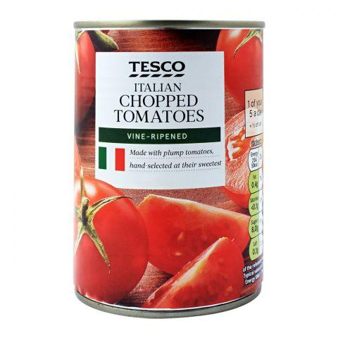 Tesco Italian Chopped Tomatoes, Vine-Ripened, 400g
