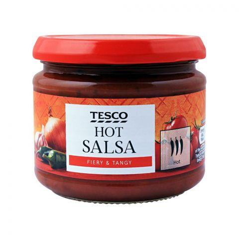 Tesco Hot Salsa Dip, Fiery & Tangy, 300g