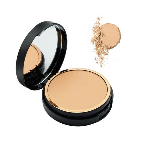 ST London Dual Wet & Dry Compact Powder, High Coverage, SPF 15, Natural