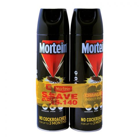 Mortein Crawling Insect Killer, 2x375ml, Save Rs. 140