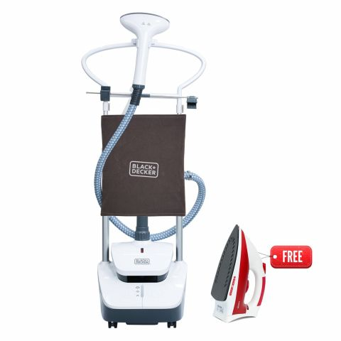 Black & Decker Garment Steamer, 2000W, GST2000PR
