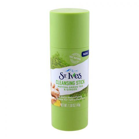 St. Ives Cleansing Stick, Matcha Green Tea & Ginger, 45gm