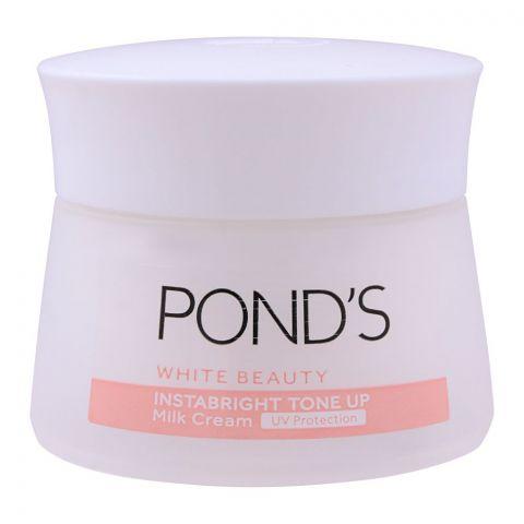 Pond's White Beauty Instabright Tone Up Milk Cream, 50g