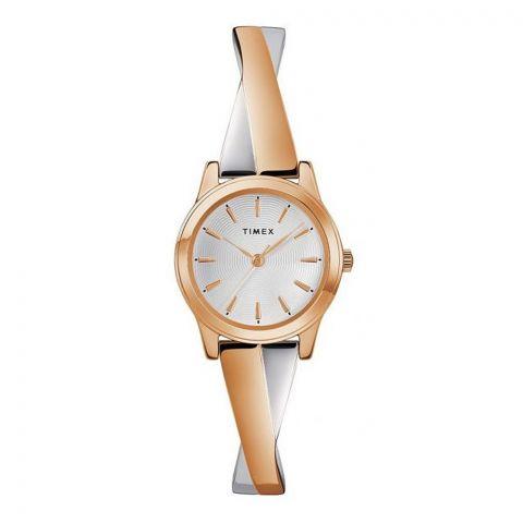 Timex Women's Stretch Bangle 12mm Band Watch, TW2R98900