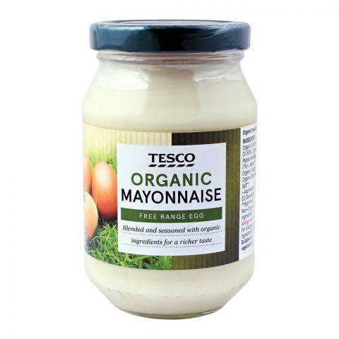 Tesco Organic Mayonnaise, Free Range Egg, 250ml