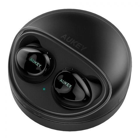 Aukey True Wireless Earbuds, Black, EP-T1