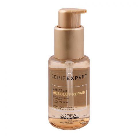 L'Oreal Professionnel Serie Expert Wheat Oil Absolut Repair Nourishing Hair Serum, 50ml