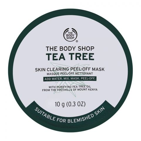 The Body Shop Tea Tree Skin Clearing Peel-Off Mask, 10g