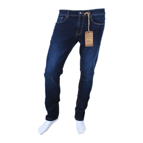 Jockey Slim Fit Jeans, Dark Blue, MI8AJ11