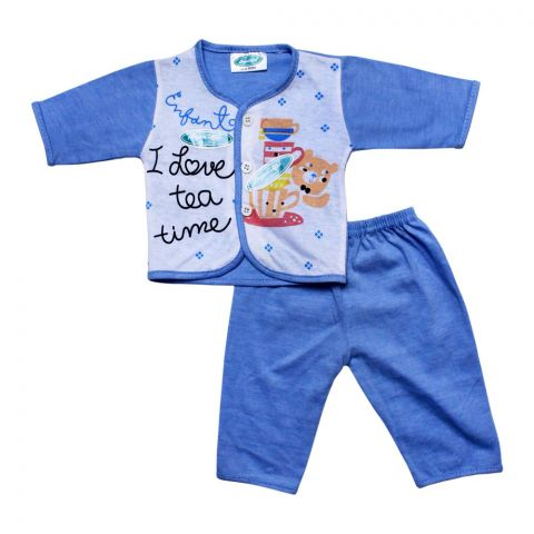 Angel's Kiss Baby Suit, Newborn, Blue