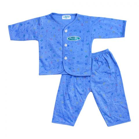 Angel's Kiss Baby Suit, Small, Blue