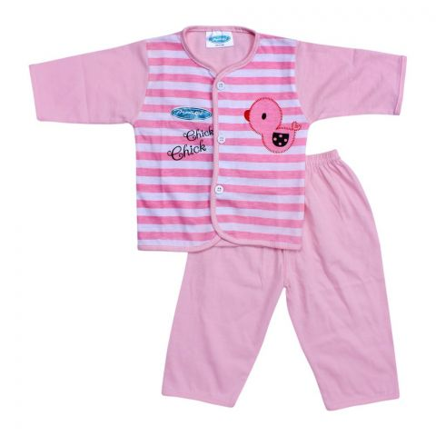 Angel's Kiss Baby Suit, Medium, Pink