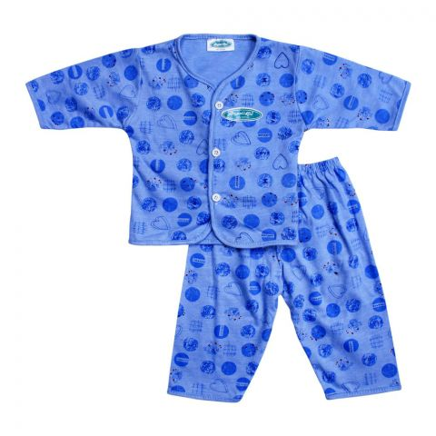 Angel's Kiss Baby Suit, Medium, Blue