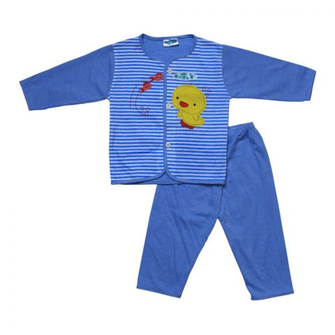 Angel's Kiss Baby Suit, Extra Large, Blue
