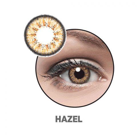 Optiano Soft Color Contact Lenses, Hazel
