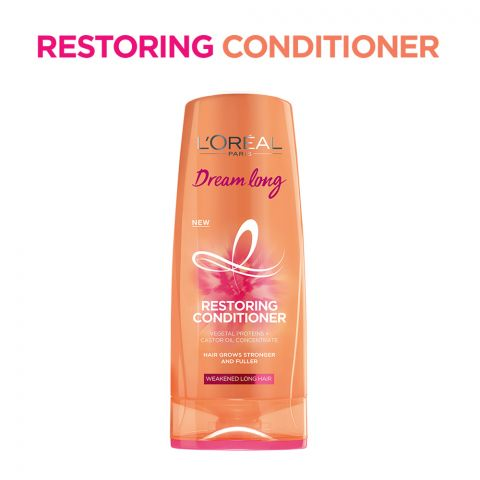 L'Oreal Paris Dream Long Restoring Conditioner, Weakened Long Hair, 175ml