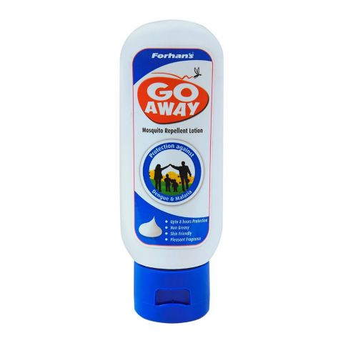 Forhan's Go Away Mosquito Repellent Lotion, Protection Against Dengue & Malaria, 50ml