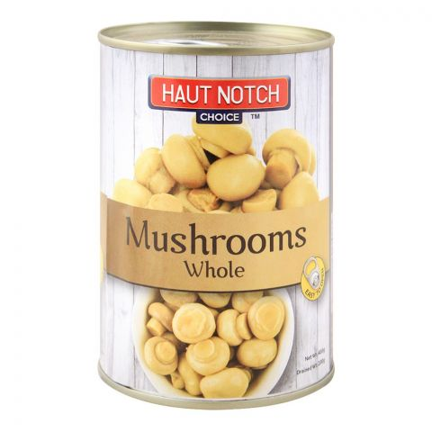 Haut Notch Mushrooms, Whole, 400g