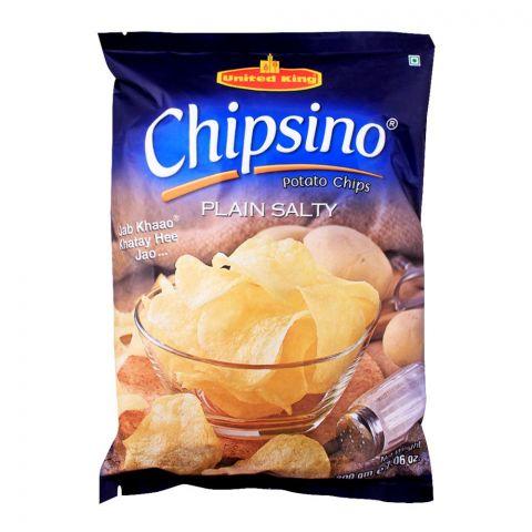 United King Chipsino Plain Salty Potato Chips, 200g