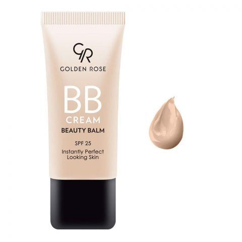 Golden Rose BB Cream Beauty Balm, SPF 25, 01 Light