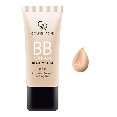 Golden Rose BB Cream Beauty Balm, SPF 25, 04 Medium