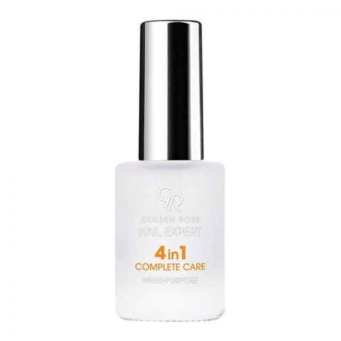 Golden Rose Nail Expert 4-In-1 Complete Care, Multi-Purpose Nail Care, 11ml