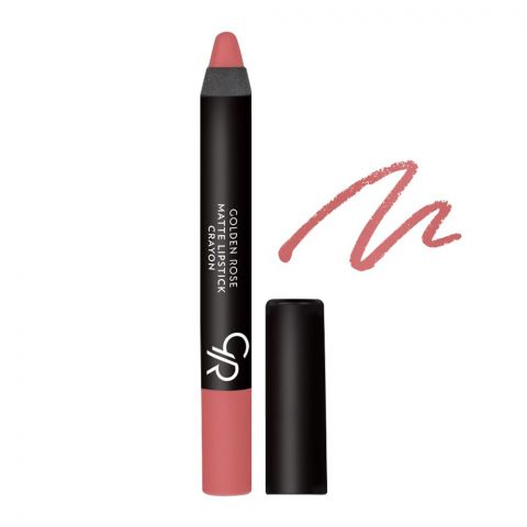 Golden Rose Matte Lipstick Crayon, 13