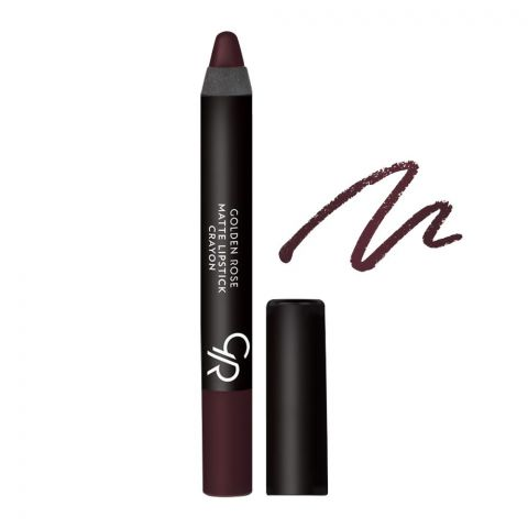 Golden Rose Matte Lipstick Crayon, 03