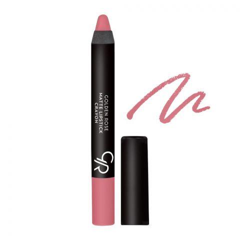 Golden Rose Matte Lipstick Crayon, 12