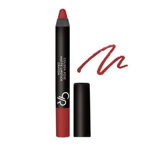 Golden Rose Matte Lipstick Crayon, 09