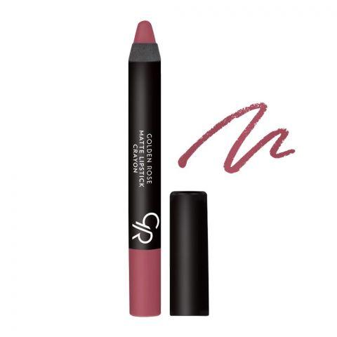 Golden Rose Matte Lipstick Crayon, 08