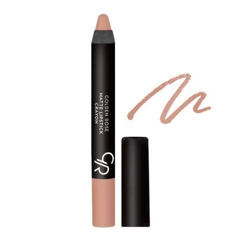 Golden Rose Matte Lipstick Crayon, 15