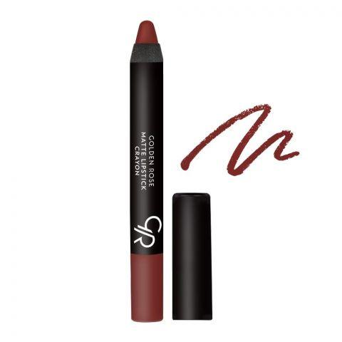 Golden Rose Matte Lipstick Crayon, 01