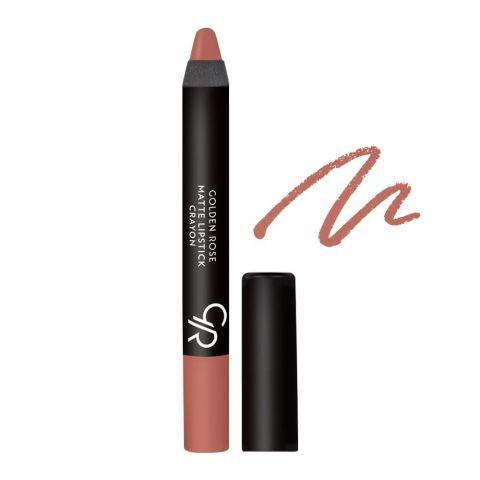 Golden Rose Matte Lipstick Crayon, 18