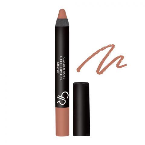 Golden Rose Matte Lipstick Crayon, 14