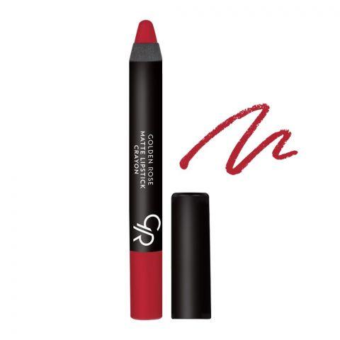 Golden Rose Matte Lipstick Crayon, 06