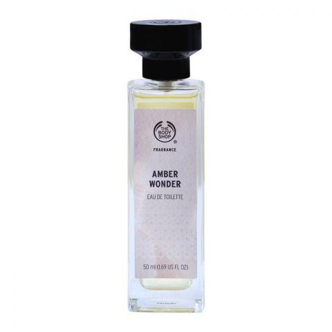 The Body Shop Amber Wonder Eau De Toilette, 50ml