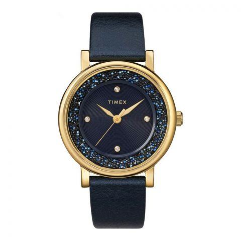 Timex Women's Crystal Opulence With Swarovski Crystals 38mm Watch, TW2R93100