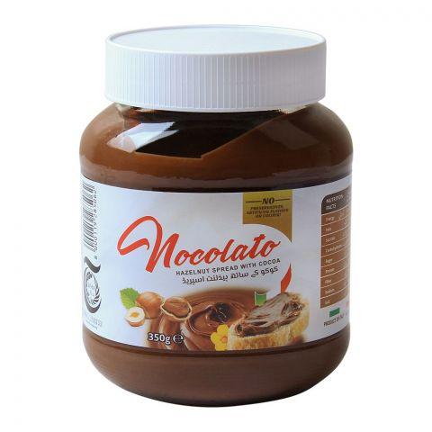 Golden Basket Nocolato Hazelnut Spread With Cocoa, 350g