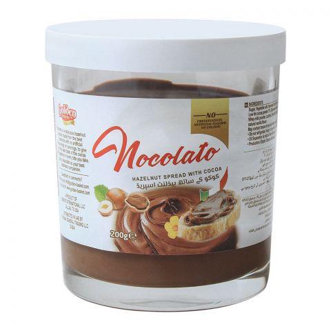Golden Basket Nocolato Hazelnut Spread With Cocoa, 200g