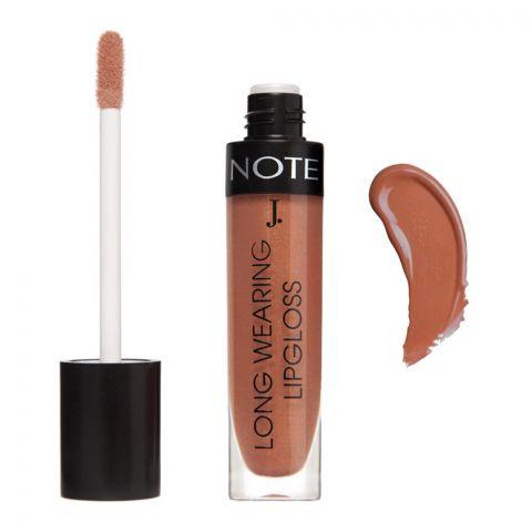 J. Note Long Wearing Lip Gloss, 07, With Macadamia Oil + Shea Butter