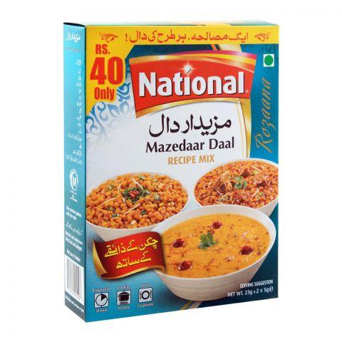 National Mazedaar Daal Masala Recipe Mix, 23x2g