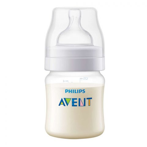 Avent Anti-Colic Feeding Bottle, 0m+, 125ml/4oz, SCF810/17