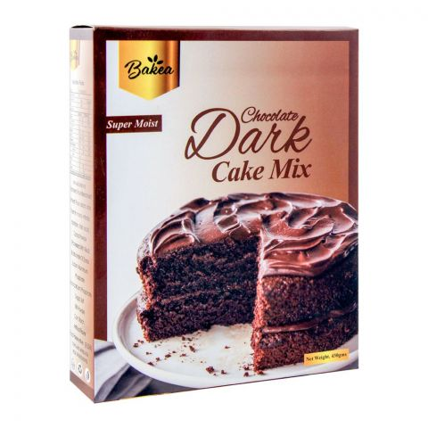 Bakea Dark Chocolate Cake Mix, 430g